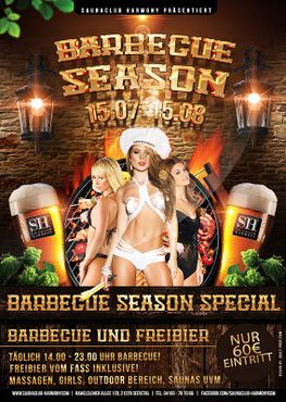 BARBECUE SEASON - DIE TOP BARBECUE & FREIBIER AKTION | 15.07 - 15.08